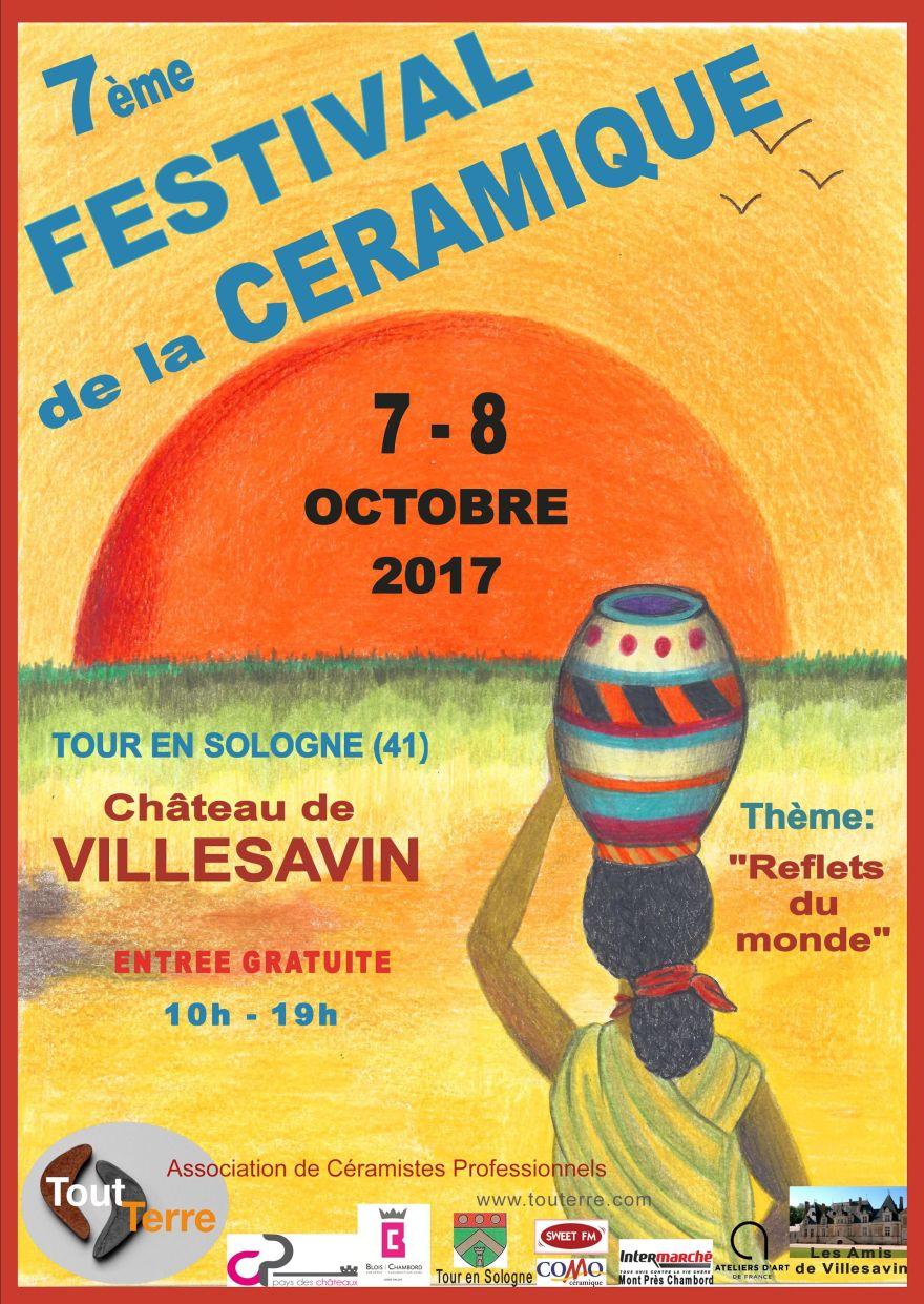 Affiche A4 Villesavin 2017