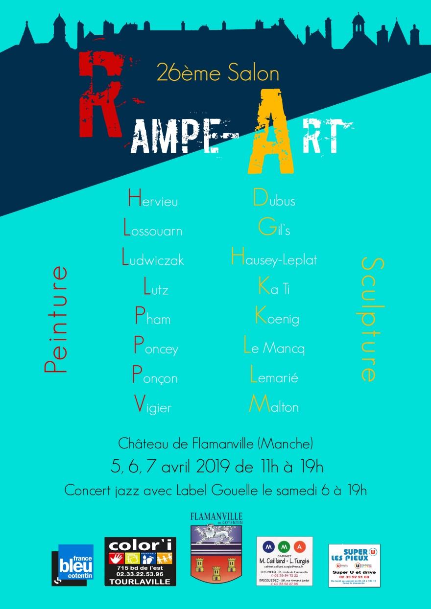 affiche Rampe art 2019